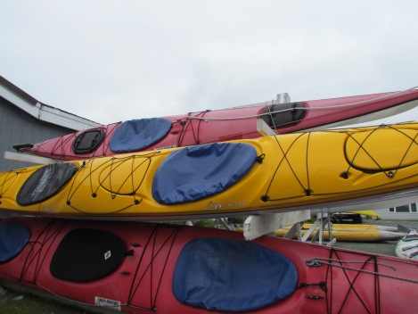 Kayaking, First Time: An abecedarian essay